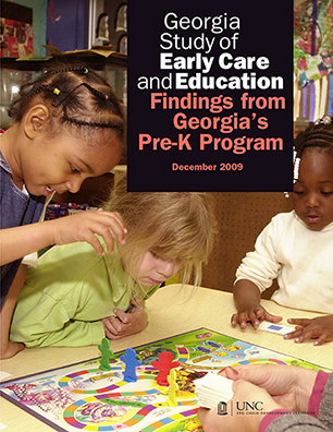 Findings from Georgia's Pre-K Program